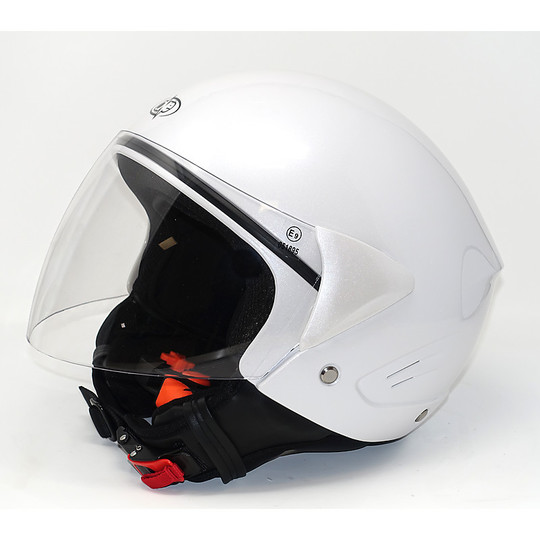 Motorrad Helm Jet Black One Micro Ages Paranuca Abnehmbare Weiß gehen, um alle Saddle