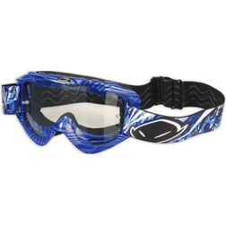 Occhiali moto Cross Enduro Ufo Nazca 2 Evolution Blu Ufo