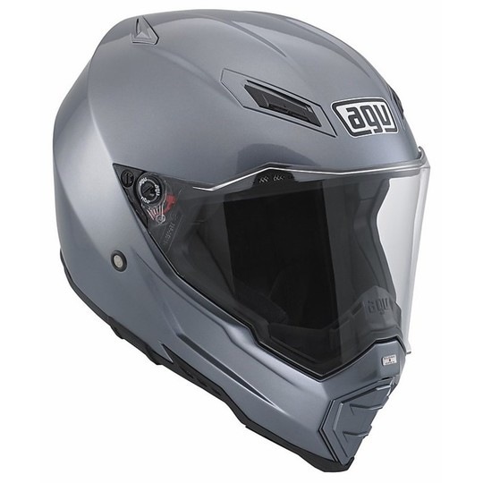 Off-road Motorcycle Helmet AGV AX-8 Evo Naked Titanium For