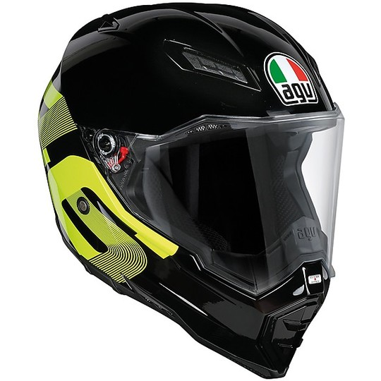 Off-Road Motorcycle Helmet AGV AX-8 Evo Top Naked Identity