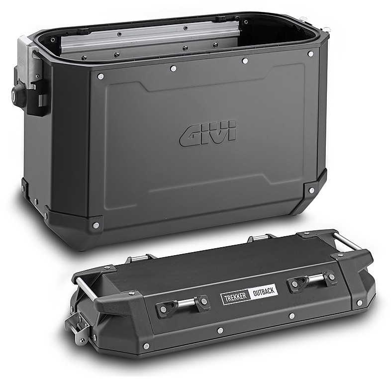 GIVI E146 Adhesive Protective Rubbers for Trekker Outback