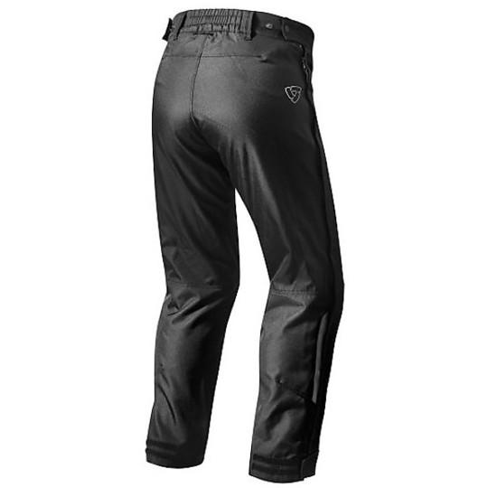 Pantalon de moto en tissu Rev'it Axis WR Noir