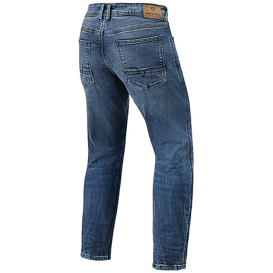 Pantalon Jeans Moto Rev'it DETROIT TF Medium Bleu Standard