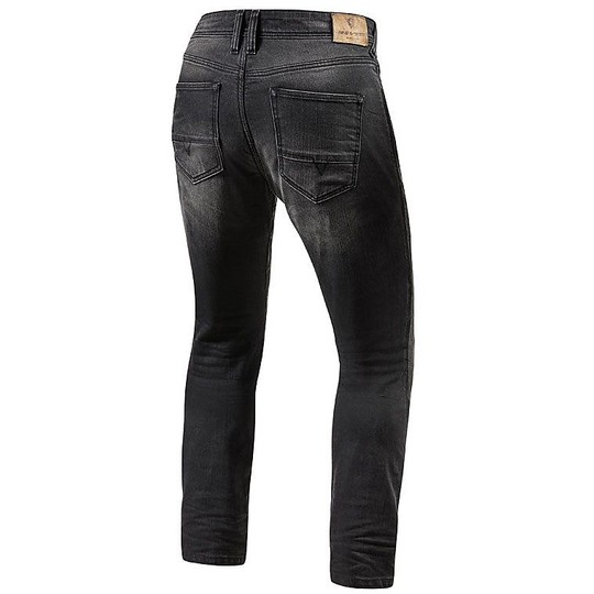 Pantalon moto en denim Rev'it BRENTWOOD SF Gris moyen Denim stretch stretch