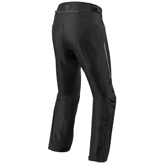 Pantalon moto en tissu Touring Rev'it FACTOR 4 Noir Stretched