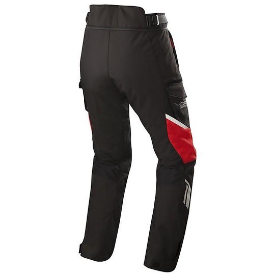 Pantalon Moto Tissu Touring Aplinestar ANDES v2 Drystar Noir Rouge