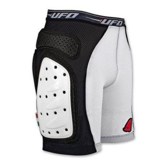 Pantaloncini Protettivi UFO con protezioni laterali rigide Nero