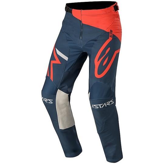 ALPINESTARS Pantaloni cross RACER Flagship-FLUO VERDE//ANTRACITE//NERO