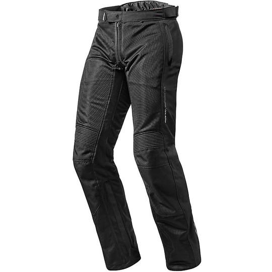 Tessuto Nero 2 Rev'it Airwave In Abbigliamento Accorciato Pantaloni gTqaw8xnR