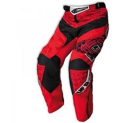 Pantaloni Moto Cross Bambino ufo Mx-22 Rosso Honda Ufo