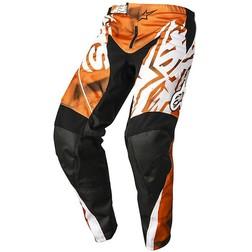 Pantaloni Moto Cross Enduro Alpinestars Racer pants 2014 Arancio Nero Alpinestars