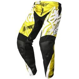 Pantaloni Moto Cross Enduro Alpinestars Racer pants 2014 Giallo Nero Alpinestars