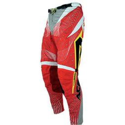 Pantaloni Moto Cross Enduro Fuoristrada Acerbis Impact 09 Rosso Acerbis