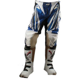 Pantaloni Moto Cross Enduro Fuoristrada Fm Racing X19 Bianco-Blu Fm racing