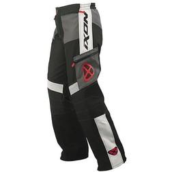 Pantaloni Moto Cross Enduro Fuoristrada Ixon Gigantic Impermeabili Nero-Rosso Ixon