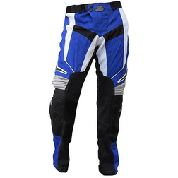Pantaloni moto Cross Enduro Loki Sport MultiCross Blu Yamaha Loki