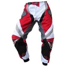 Pantaloni moto Cross Enduro Loki Sport StarCross Rosso Honda Loki
