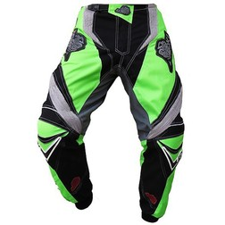 Pantaloni moto Cross Enduro Loki Sport StarCross Verde Kavasaki Loki