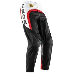 Pantaloni Moto Cross Enduro Thor Phase Pro-Gp 2015 Bianco Rosso Thor