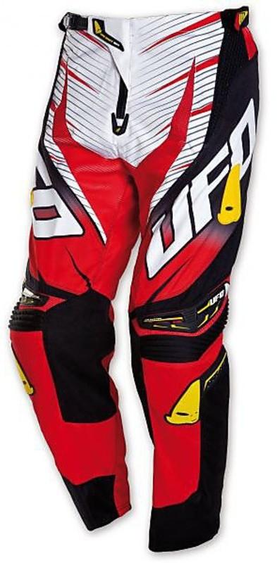 Pantaloni Moto Cross Enduro Ufo Voltage Rosso Vendita Online