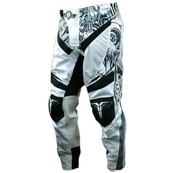 Pantaloni moto cross enduro XGX Generation Supercross Bianco Sheild