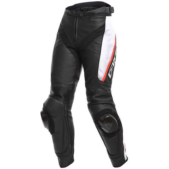 0651af0e66aae Moto In Pelle Bianco Pantaloni Donna Nero 3 Delta Da Lady Dainese pAgaaqW1dZ