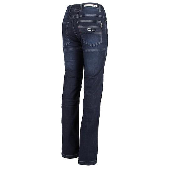 Pantaloni Moto Jeans Donna Impermeabili OJ Bluster Lady