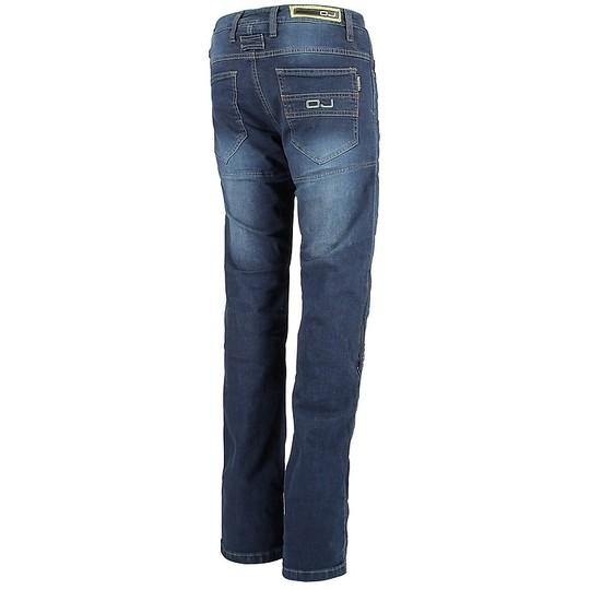 Pantaloni Moto Jeans Impermeabili OJ Bluster Blu