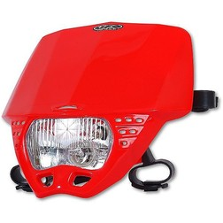 Portafaro Moto Cross Enduro Ufo Plast Cruiser Rosso Ufo