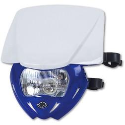Portafaro Moto Cross Enduro Ufo Plast Panther Bicolore Blu-Bianco Ufo