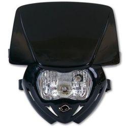 Portafaro Moto Cross Enduro Ufo Plast Panther Monocolore Nero Ufo