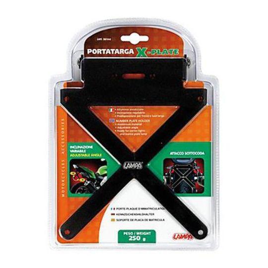 Portatarga Universale X-Plate Per Moto Sportive