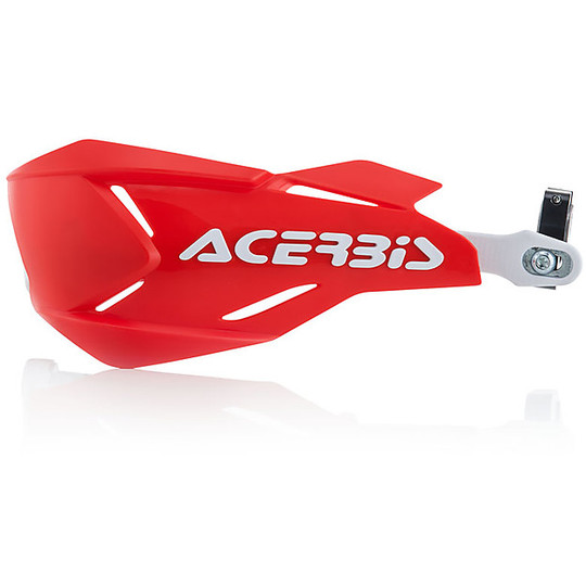 Plaque autocollant Acerbis Blanc//Rouge