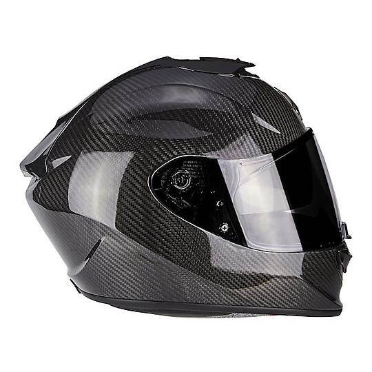 Size XS Scorpion EXO 1400 AIR SOLID Motorcycle Helmet Black