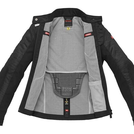 Spidi SOLAR NET Lady Black Veste de moto perforée