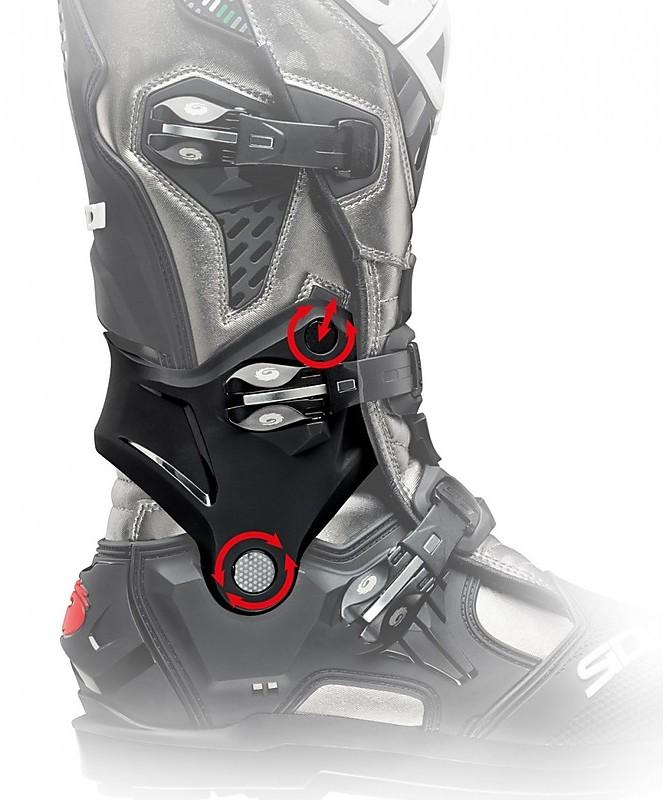 Nero 40 Sidi Gas Stivali da Moto