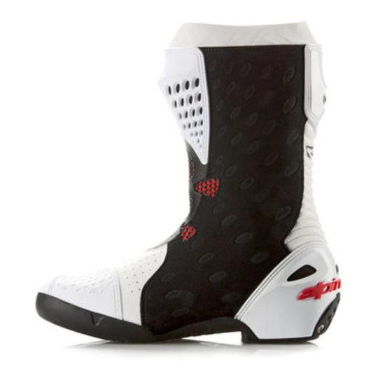 Stivali Moto Racing Alpinestar SUPERTECH R Boot NeroBianco