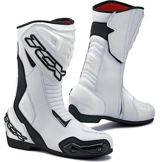 Stivali Moto Racing Tcx S-Sportour Bianco