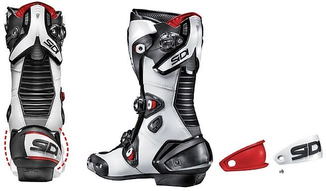 Stivali Moto Strada Racing Sidi Mag 1 Air Bianco Nero