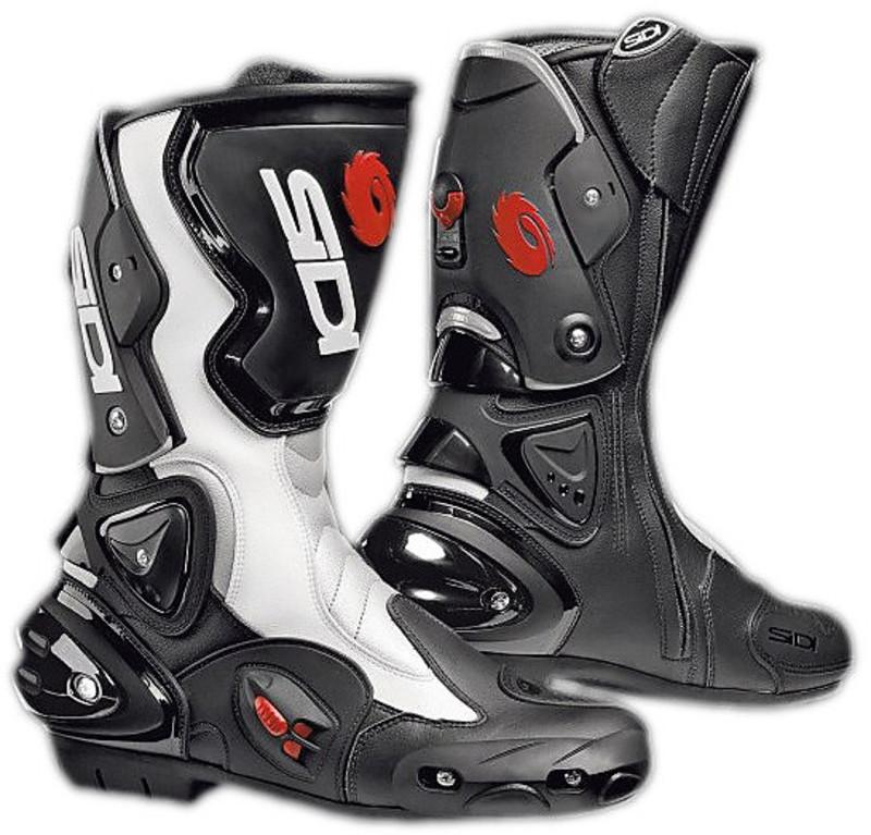 Nero Sidi Vertigo Stivali da Moto 44