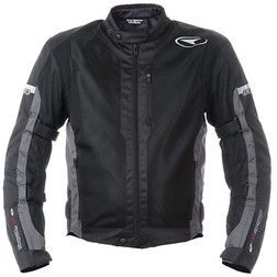 Summer motorcycle jacket pierced Axo Air Flow Black Axo