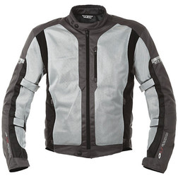 Summer motorcycle jacket pierced Axo Air Flow Grey Axo
