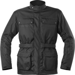 Technical Axo Motorcycle Jacket Cardinal Wp Waterproof Black Axo