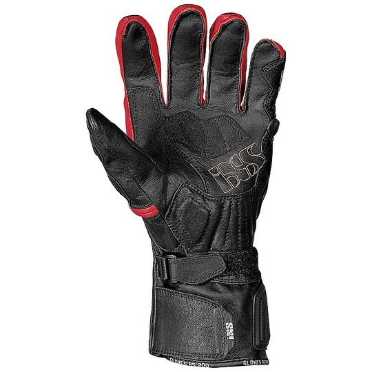 Technical Racing Racing IXS RS-200 Gloves Black Red Certified With Protections