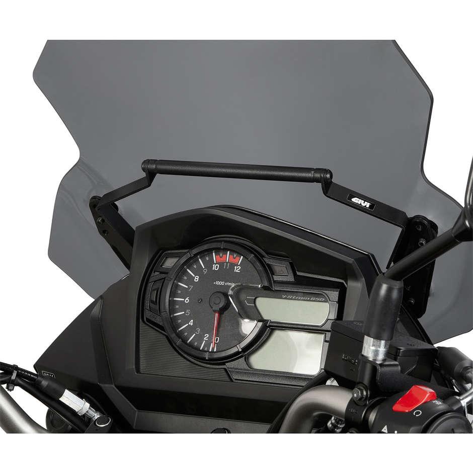 Traversino Supporto Smartphone / Navigatore Givi FB3112 per Suzuki DL 650 V-Strom 14-