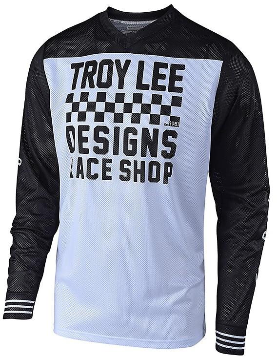 Occean//Black//X-Large Troy Lee Designs GP Air Pinstripe Mens Off-Road Motorcycle Jersey