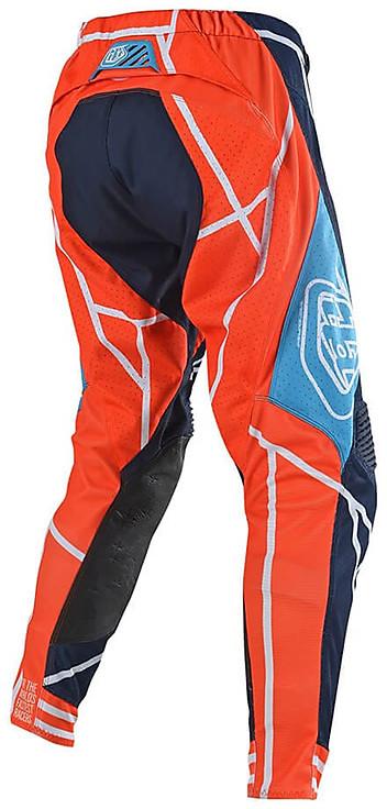 Troy Lee Designs Sef Cross Enduro Motorcycle Pants Se Air Metric Navy Orange For Sale Online Outletmoto Eu