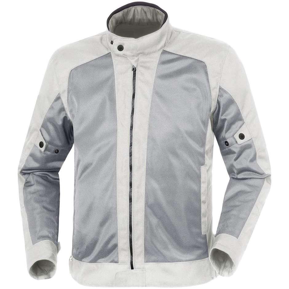 Veste de moto en tissu perforé Tucano Urbano 8160MF201 NETWORK 2G gris clair