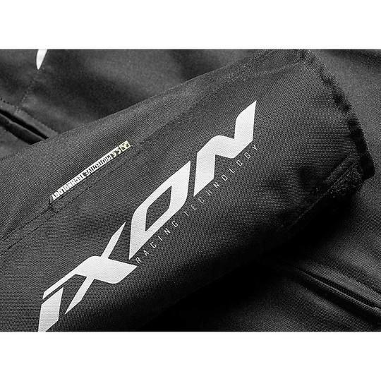 Veste de moto en tissu sport Ixon SWINTER SPORT Noir Blanc
