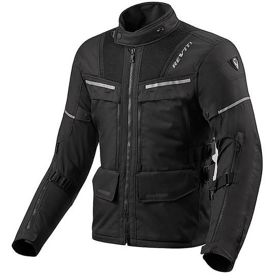 Veste moto en tissu Touring Rev'it OFFTRACK Noir